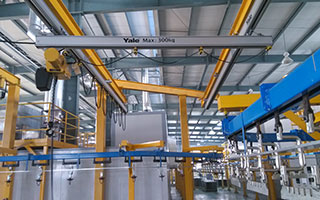 Automation trend and safe operation method of aluminum alloy rail crane